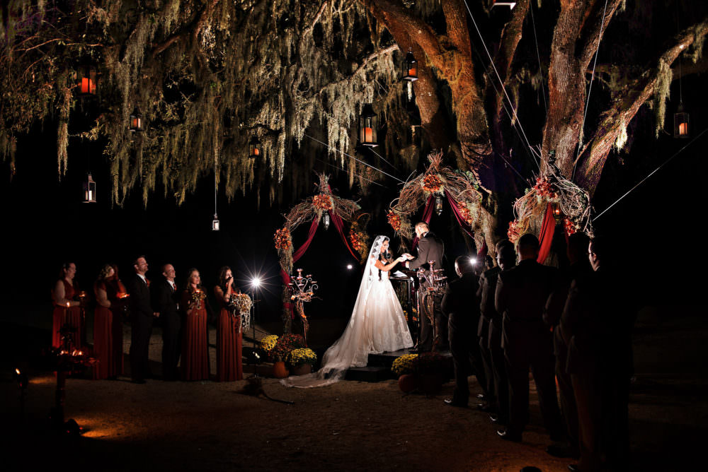 april   leland held their wedding at the beautiful hammock dunes resort in palm coast  the two held their ceremony beneath an old oak on the golf course at     the hammock dunes club archives   stout studios  rh   stoutphoto